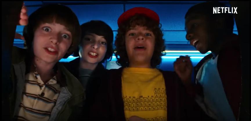 Netflix estrenó el trailer de Stranger Things