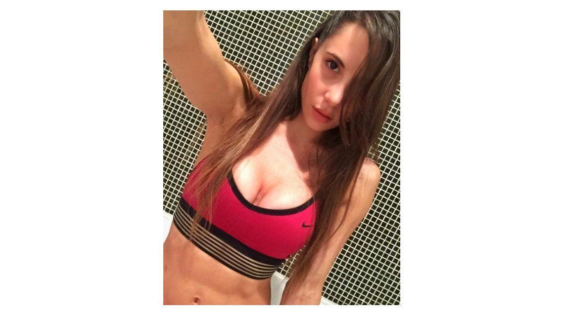 La foto sexy de Magui Bravi saliendo de la pileta