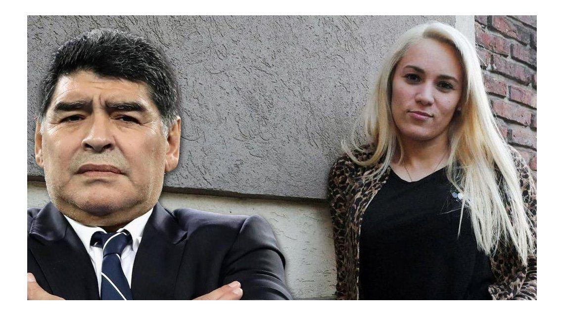 El supuesto mensaje de Rocío Oliva a Diego Maradona