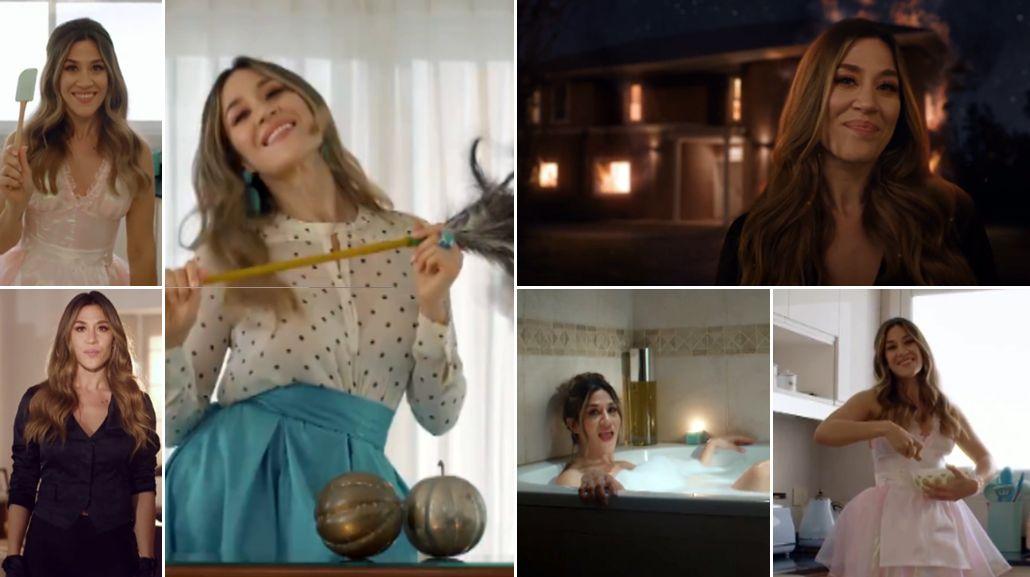 Jimena Barón estrenó el clip de La tonta