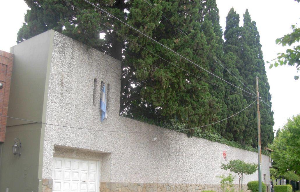 La mansión de Sandro fue un refugio antibombas