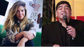 Dalma Maradona contó que Diego balbucea por el alcohol porque toma pastillas para dormir