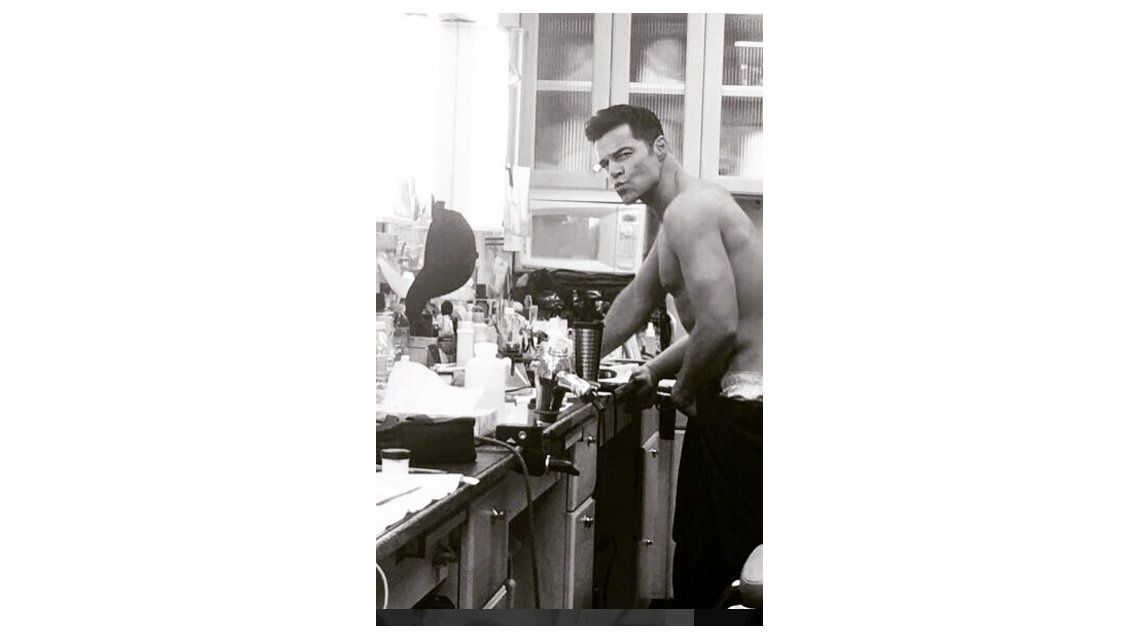 Penélope Cruz publicó una foto de la cola de Ricky Martin