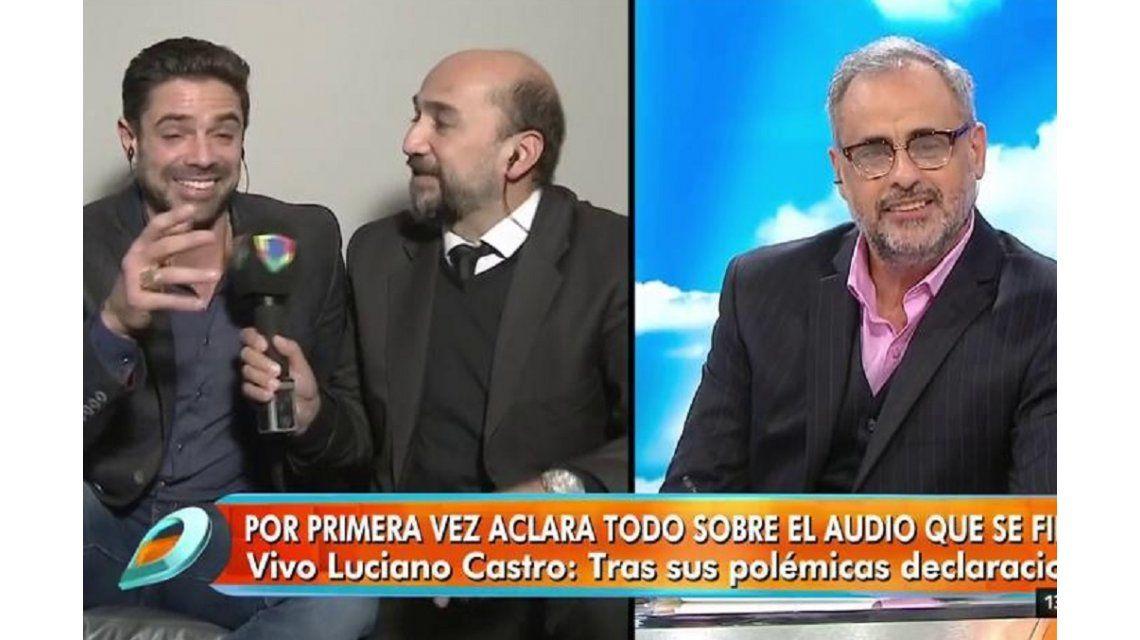 Luciano Castro en Intrusos