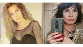 Gloria Carrá, antes y después