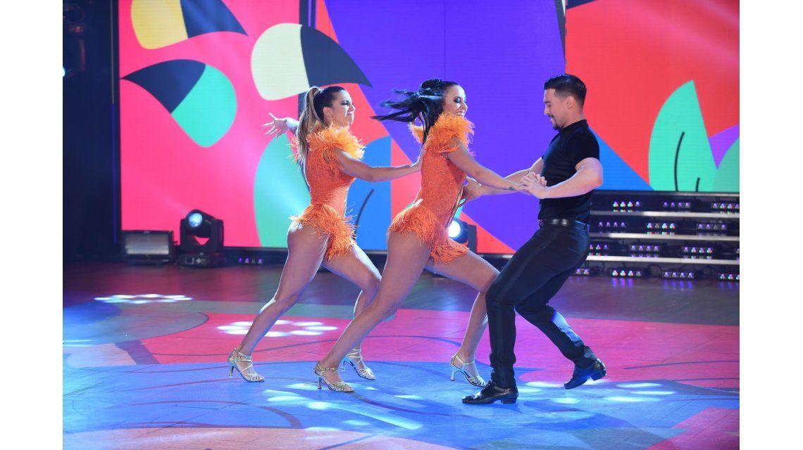 Cinthia Fernández deslumbró en el Bailando (Crédito: Jorge Luengo)