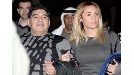 Rocío Oliva se reencontró con Diego Maradona