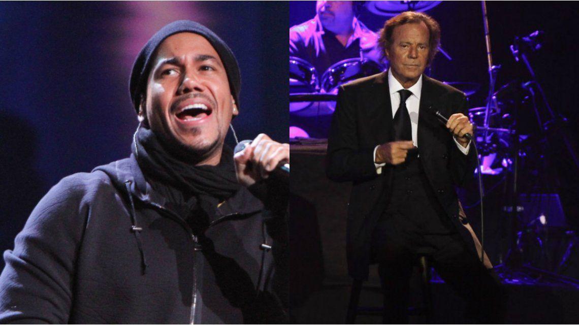 Romeo Santos y Julio Iglesias le dedican una canción al pene