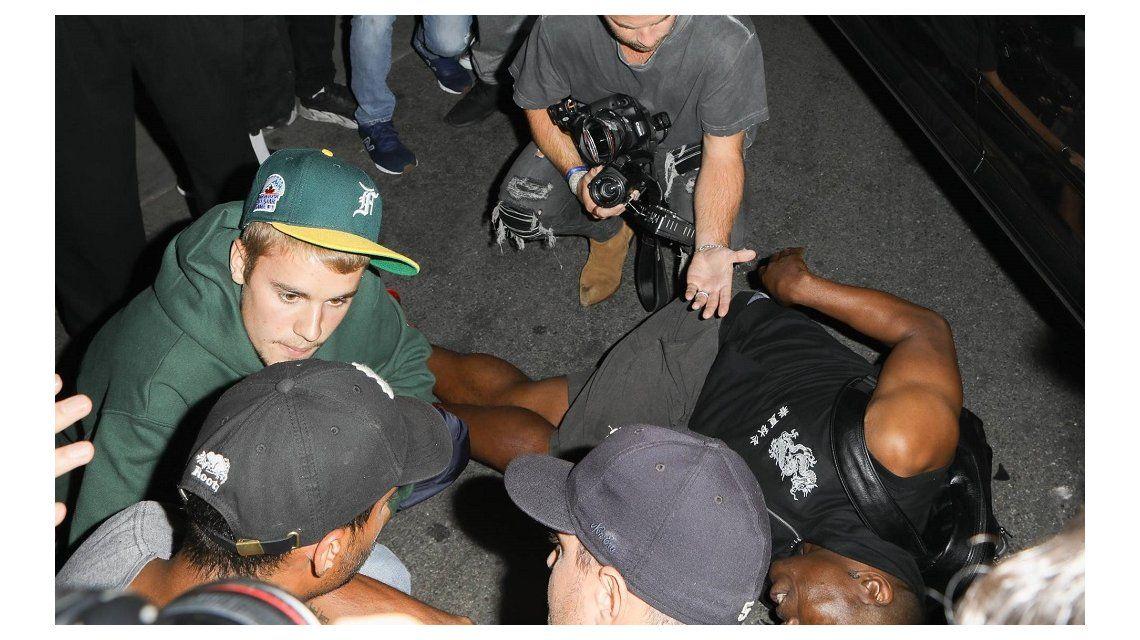 Justin Bieber atropelló un fotógrafo