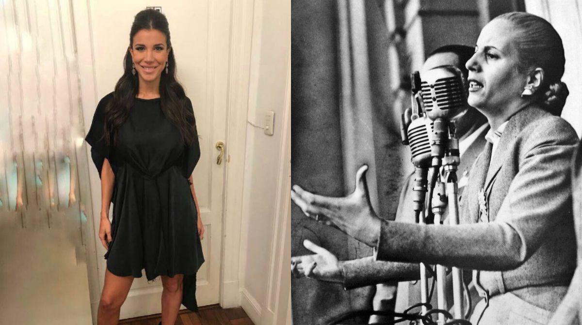 El mensaje de Andrea Rincón por la muerte de Eva Perón