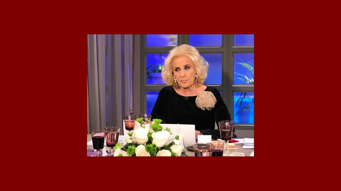 Mirtha contó el reproche que le hizo Diego Peretti luego de levantarse de la mesa