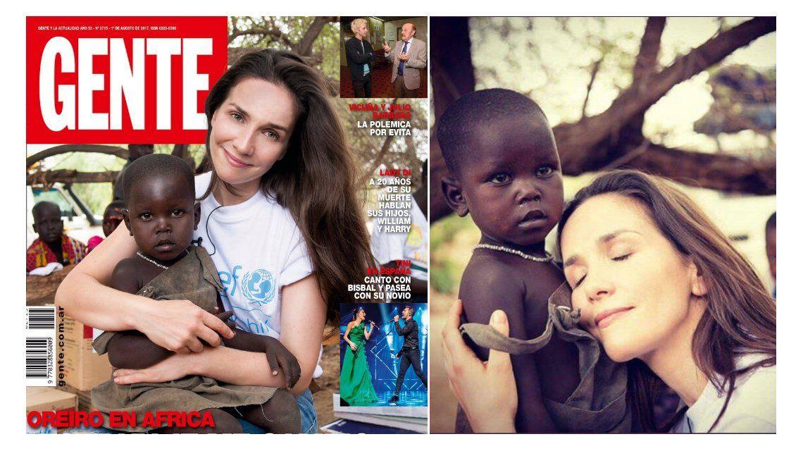 Tras la polémica, Unicef explicó la labor de Natalia Oreiro en África