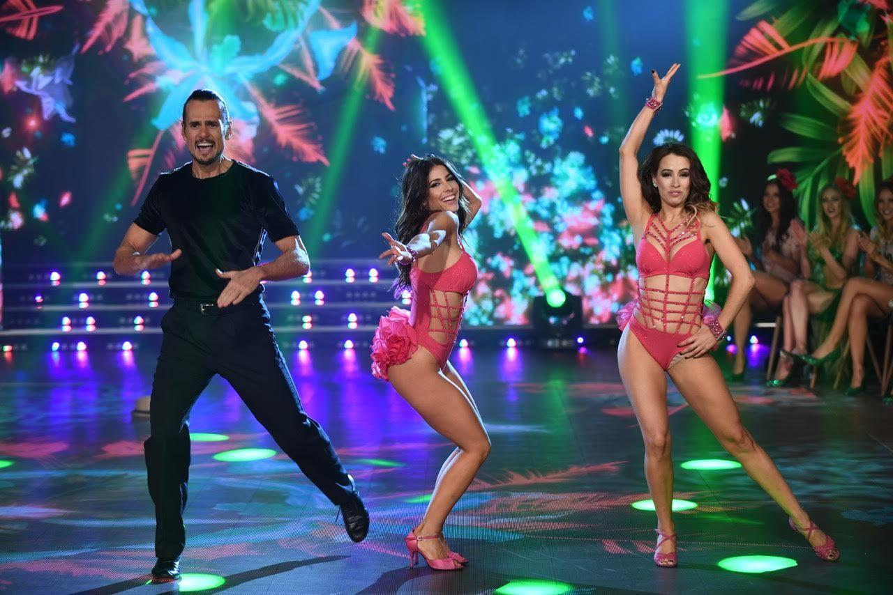Majo Martino bailó por primera vez en ShowMatch: mirá la salsa de tres