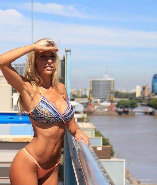 Melina Moriatis, la prima fitness de las Xipolitakis