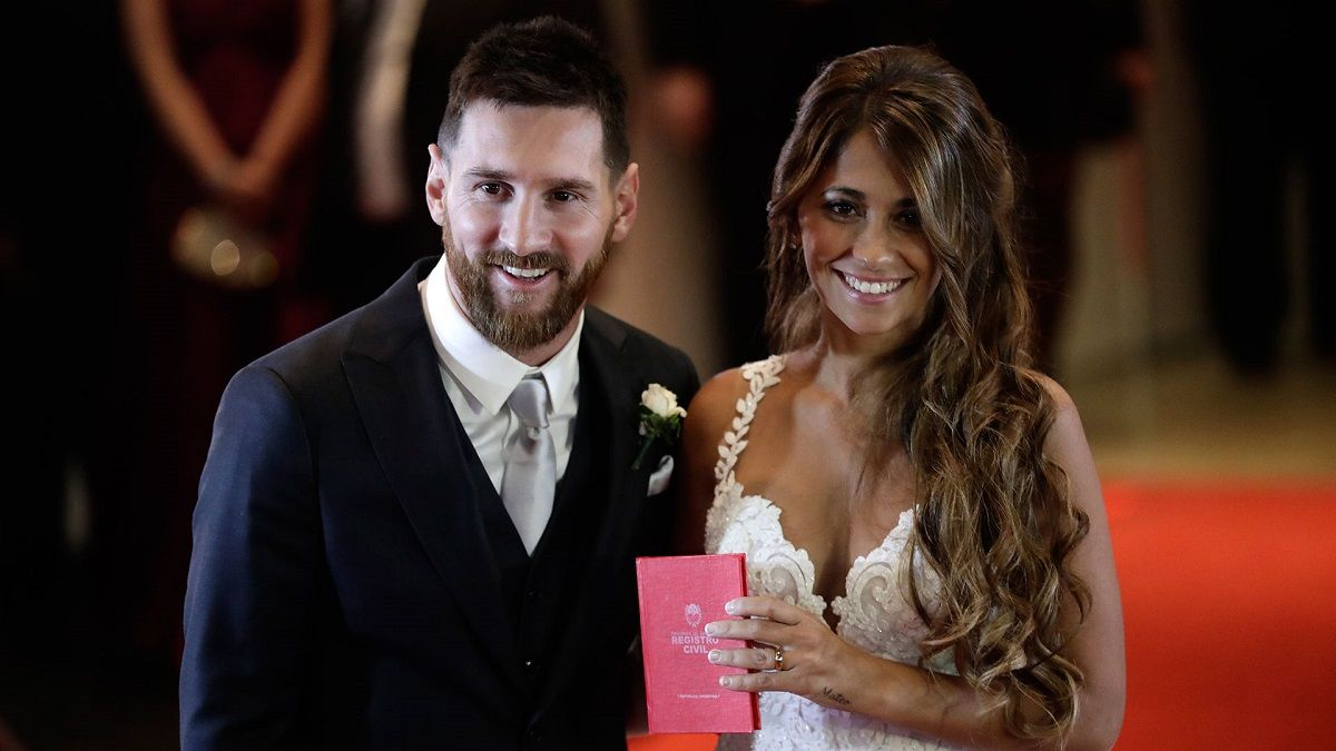 Messi y Antonela se casaron el 30 de junio en el City Center de Rosario