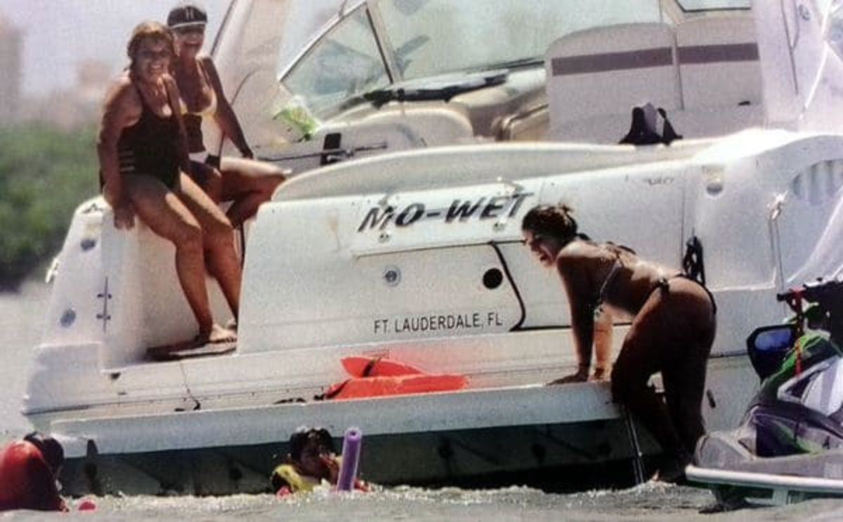 Gianinna Maradona en bikini en Miami