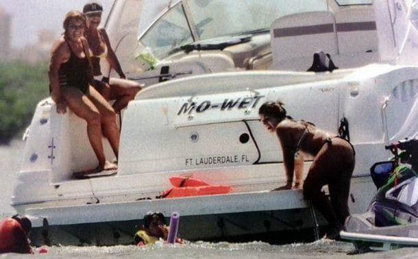 Gianinna Maradona en bikini en Miami<br>