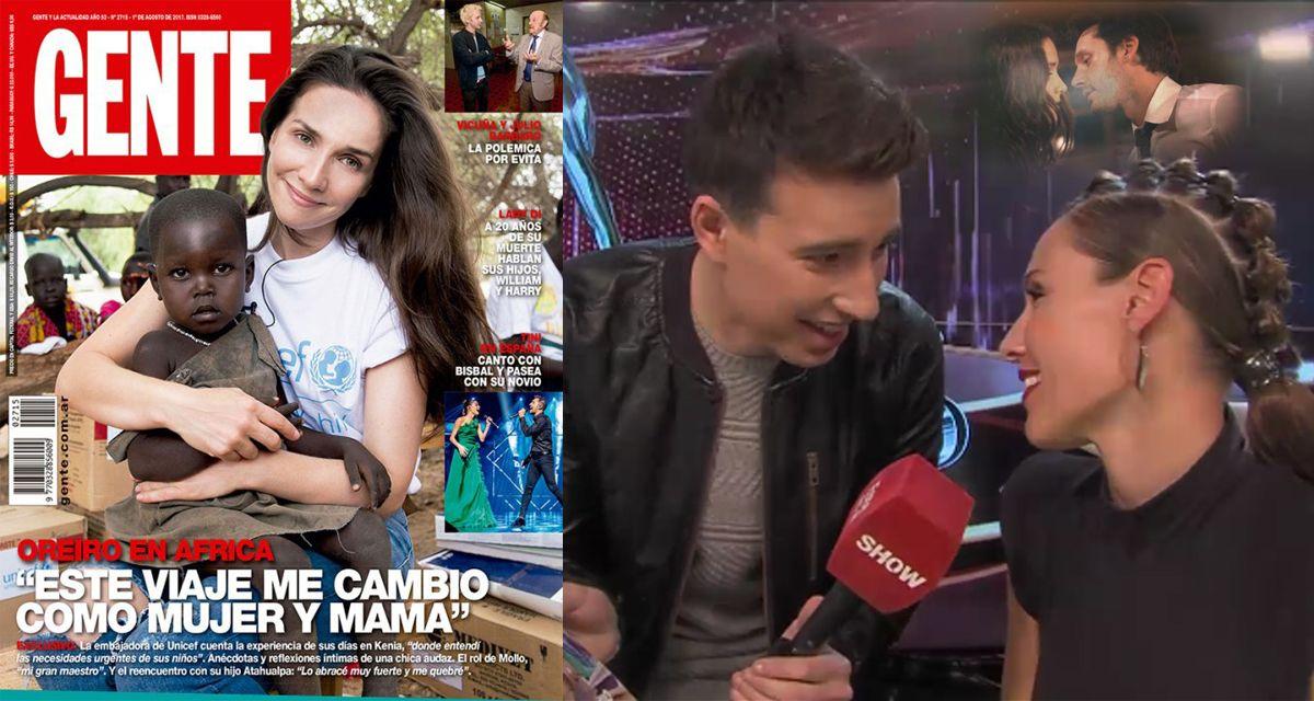 El rechazo de Pampita cuando le quisieron preguntar por Natalia Oreiro