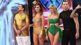 Huevo y Rozana, eliminados del Bailando