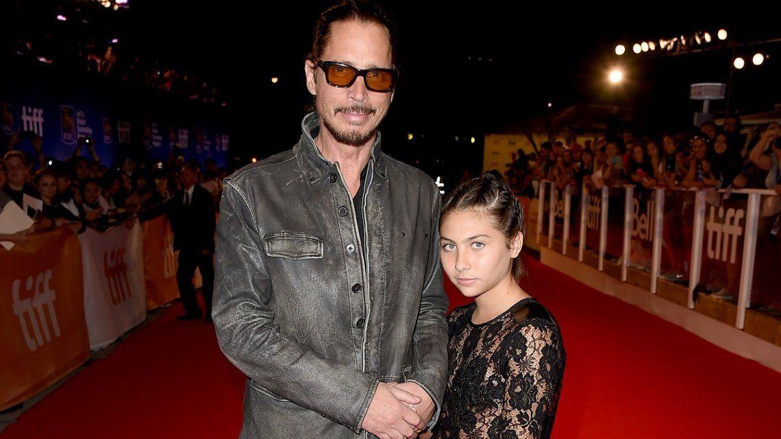La hija de Chris Cornell homenajeó a su padre y Chester Bennington