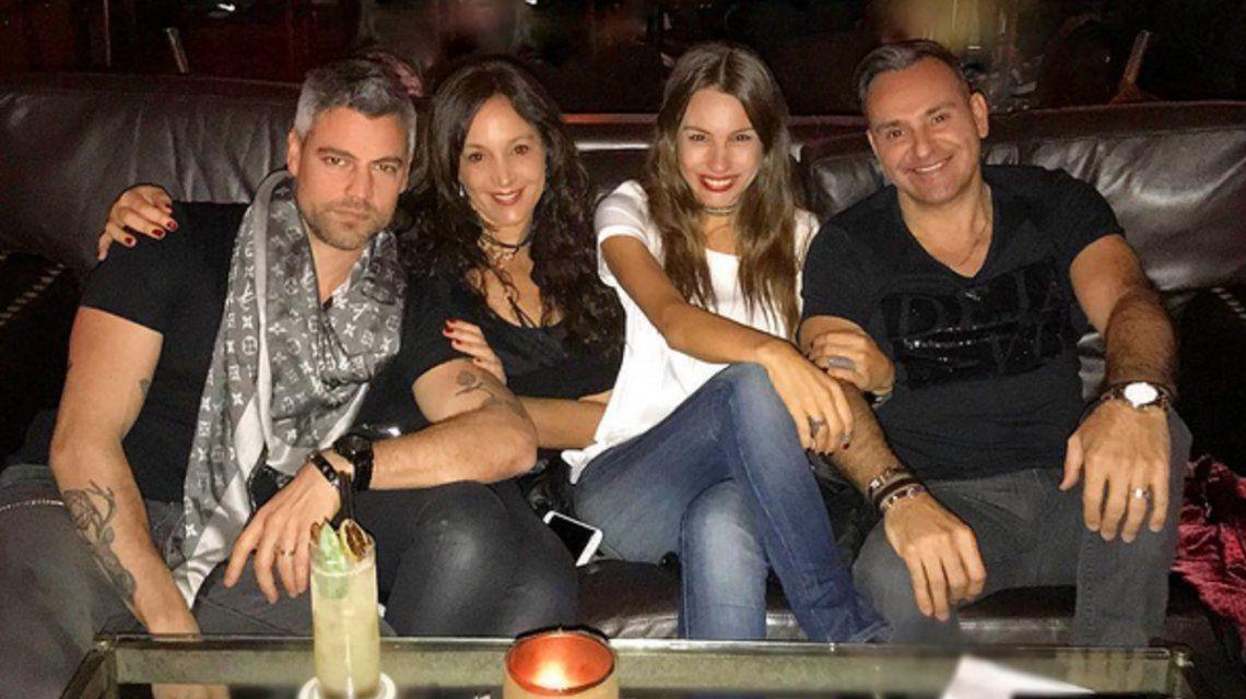 Pico Mónaco de viaje ¡y Pampita de fiesta! Fotos con amigos tras los rumores de infidelidad