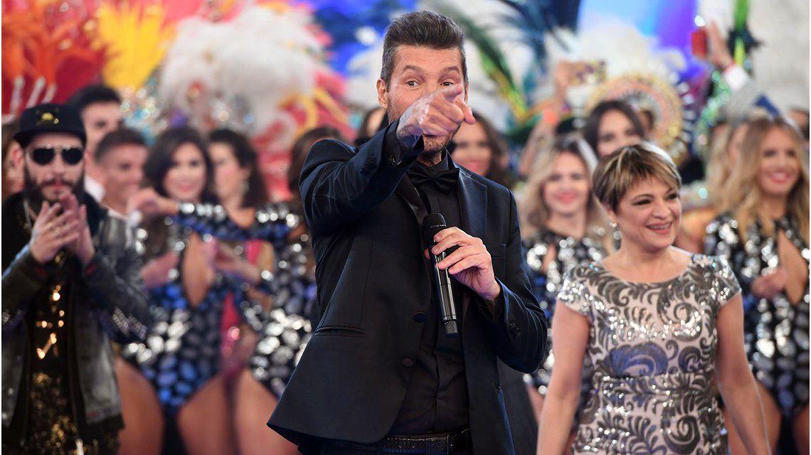 Marcelo Tinelli en el Bailando 2017