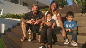 Los hijos de Lionel Messi