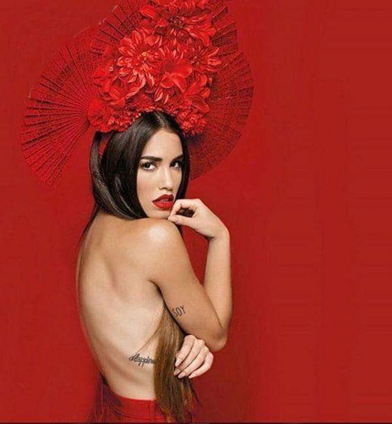 Lali Espósito, en topless para revista Gente<br>