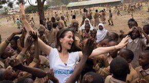 Las fotos de Oreiro en África