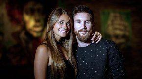 Antonela y Messi, en su última foto de solteros