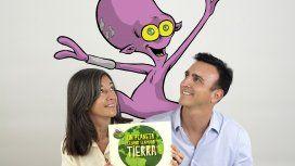 El periodista Luis Pavesio y su primer libro para querer y cuidar al planeta