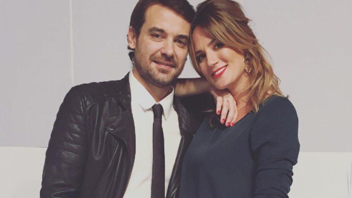 Pedro Alfonso y Paula está feliz