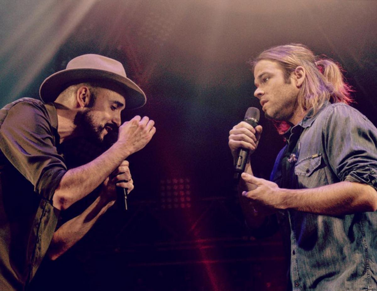 El gran gesto de Abel Pintos con Benjamín Amadeo durante su show en Rosario