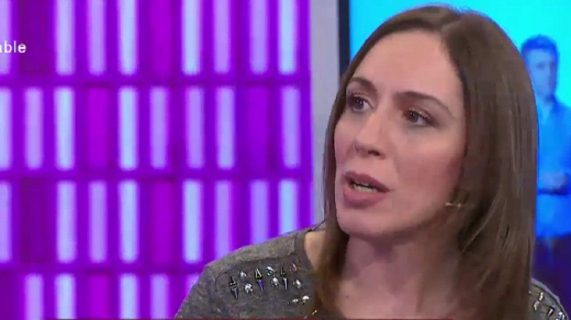 El acto fallido de María Eugenia Vidal en una entrevista con Santiago del Moro