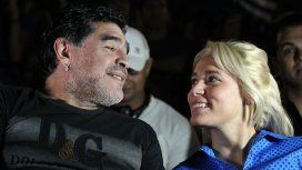 Maradona y Oliva, ¡reconciliados!