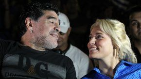 Maradona y Oliva, ¡reconciliados!
