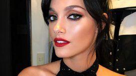 El look con transparencias de Oriana Sabatini para su show en el Bafweek
