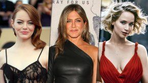 Emma Stone, Jennifer Aniston y Jennifer Lawrence