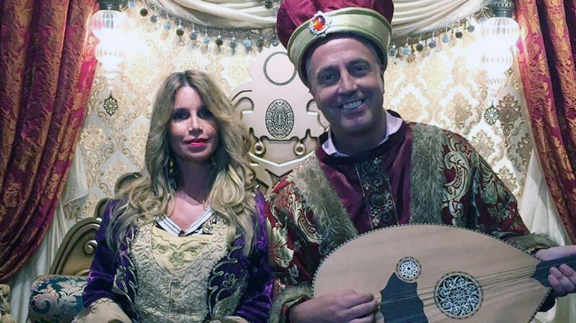 Flor Peña y Marley en Estambul