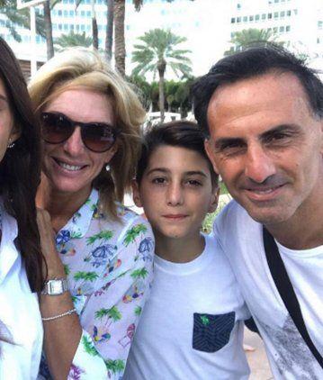 Diego Latorre, quebrado por sus hijos