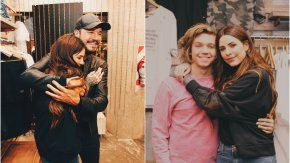 A puro abrazo, Cande Tinelli con Marcelo y su novio