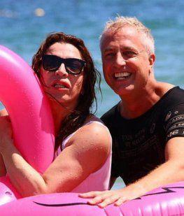 La foto de Lizy Tagliani totalmente desnuda en Ibiza ¡y la reacción de Gasalla al verla!