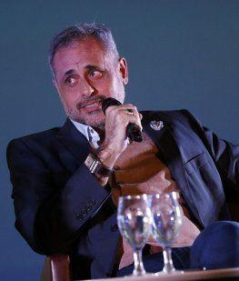 Jorge Rial, muy reflexivo