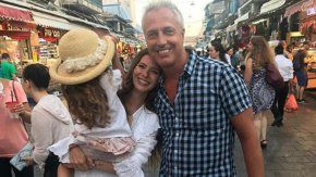 las tiernas fotos de rufina, de viaje en israel junto a la china suarez