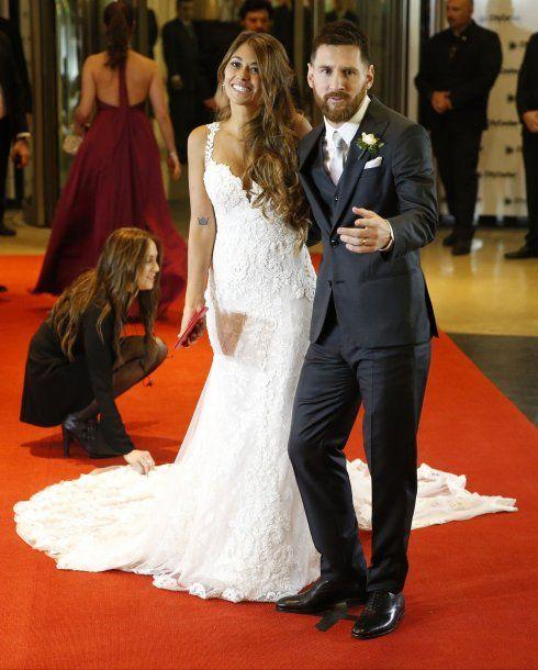 El casamiento de Messi y Antonela<br>