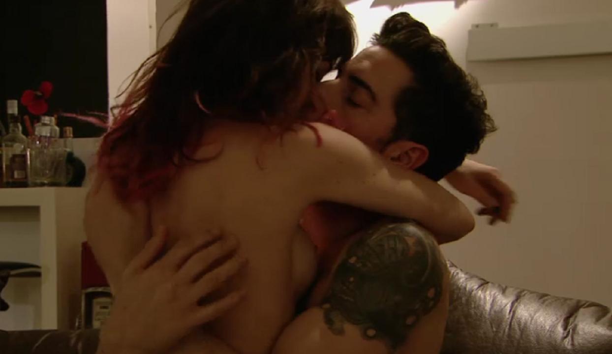 Esteban Lamothe y una escena hot con Vanesa González en Las estrellas