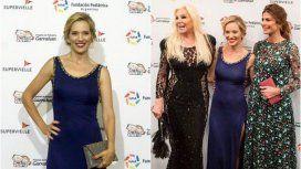 Luisana, Susana y Juliana Awada en la gala del Garrahan