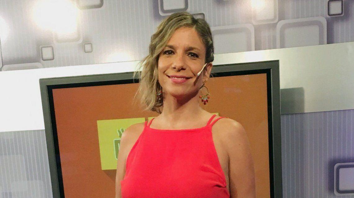 Ángela Lerena se despidió de C5N y se prepara para ser mamá