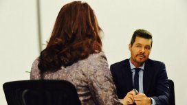 Marcelo Tinelli grabó la entrevista con el doble de Cristina Kirchner