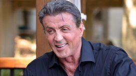 Sylvester Stallone causó conmoción